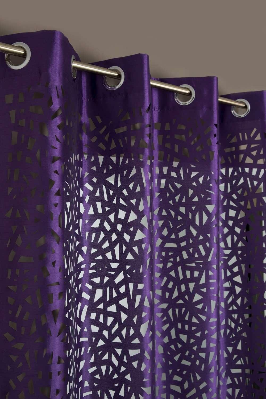 rideau a oeillets 140 x 240 cm motif