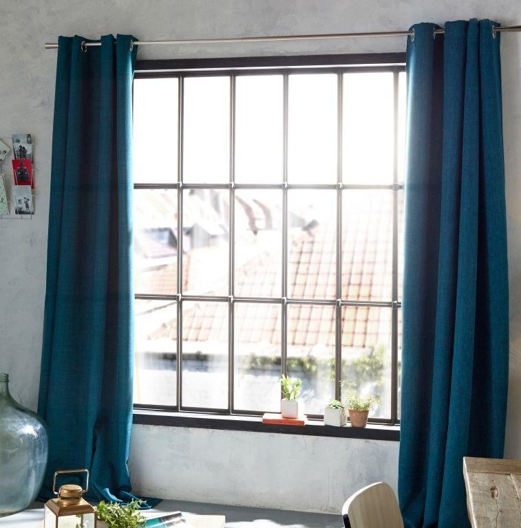 rideau colours valencia bleu 140 x 240
