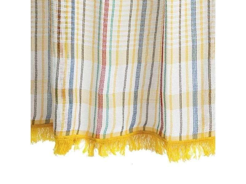 rideau jaune toulousain 140x250cm