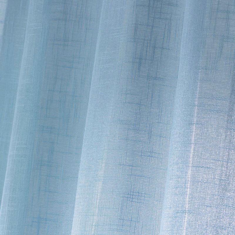 rideau voilage haltona 140x240cm bleu