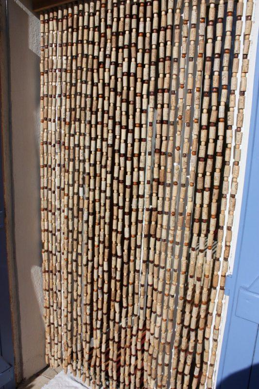 rideaux en bouchons les bois de la