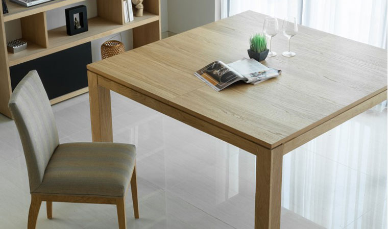 table carree 140x140 salle manger
