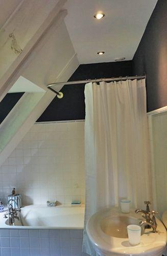 tringle rideau de douche angle sur