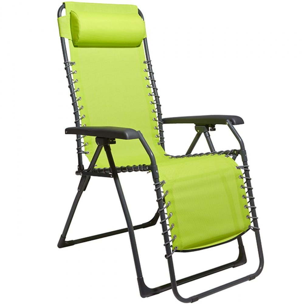 fauteuil relax vert transat fauteuil