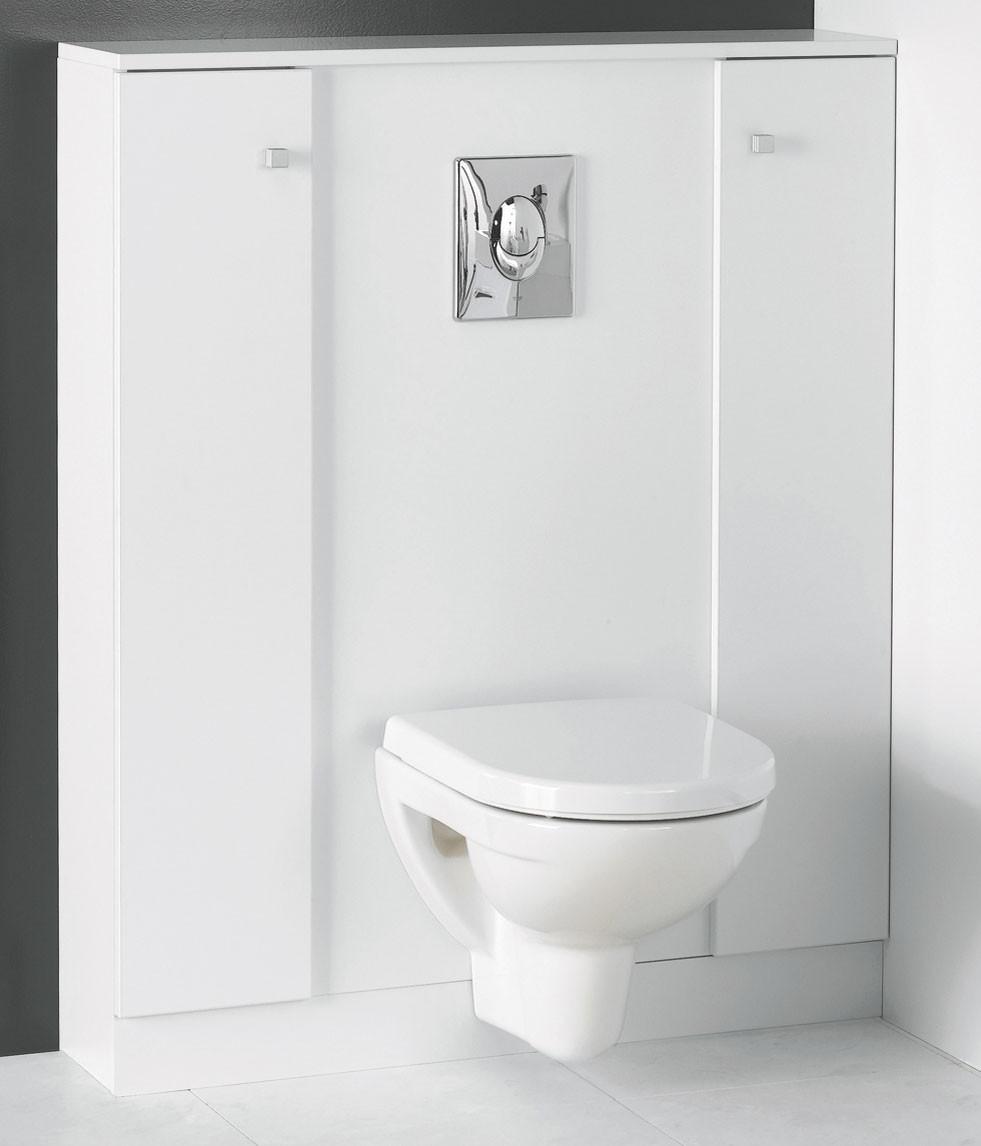 meuble wc suspendu rangement castorama