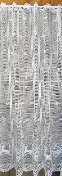 rideau brise bise au metre avec motif