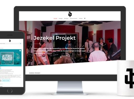 Jezekel Projekt – Site internet