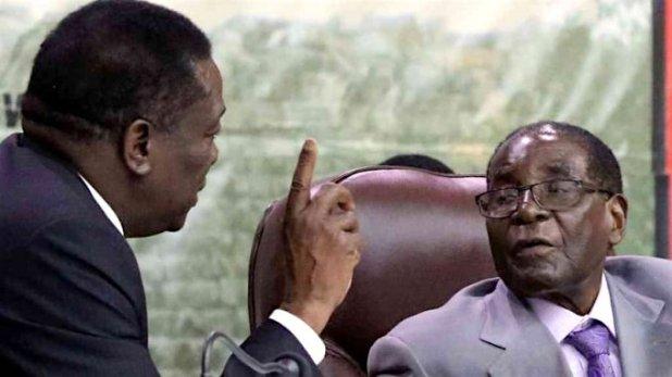2 Mnangagwa and Mugabe