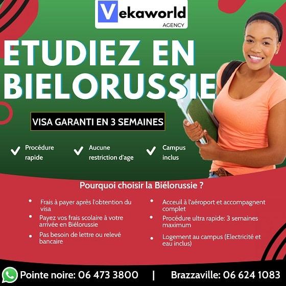 étudier en biélorussie, visa d'étude pour la biélorussie, bourse de la biélorussie
