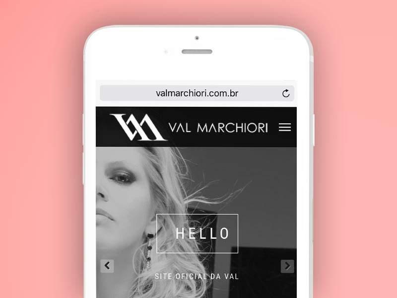 Criação loja virtual, e-commerce, Val Marchiori