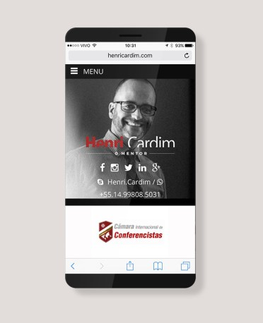 Blank Agência Criativa - E-Commerce / Loja Virtual - Henri Cardim