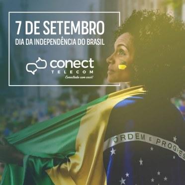 Blank Agência Criativa - Gestão de Redes Sociais - CONECT TELECOM – CAMPANHA SET. 2018
