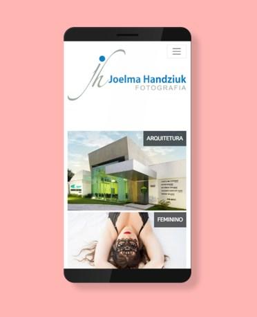 Blank Agência Criativa - Criação de Website, Blog ou Portal - Joelma Handziuk