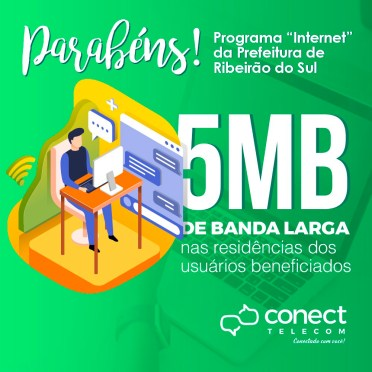 Blank Agência Criativa - Gestão de Redes Sociais - Conect Telecom – Abril 2019