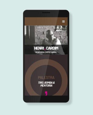 Blank Agência Criativa - Criação de Website, Blog ou Portal - Henri Cardim