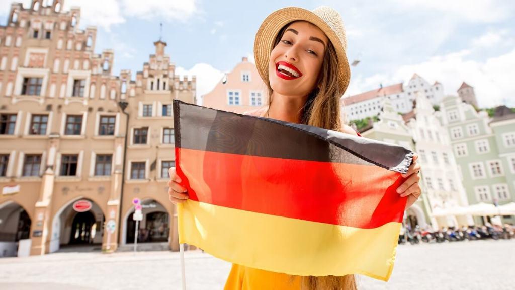 estudante na Alemanha
