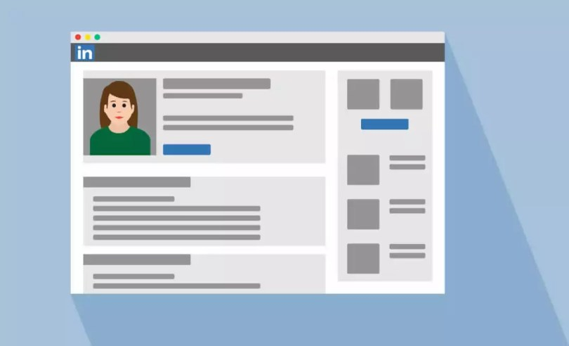 Exemple de profil LinkedIn
