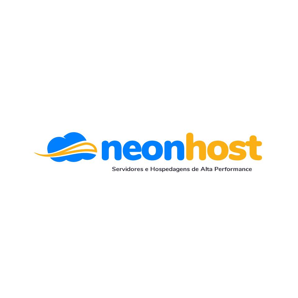 Criação de Logotipo para NeonHOST Curitiba