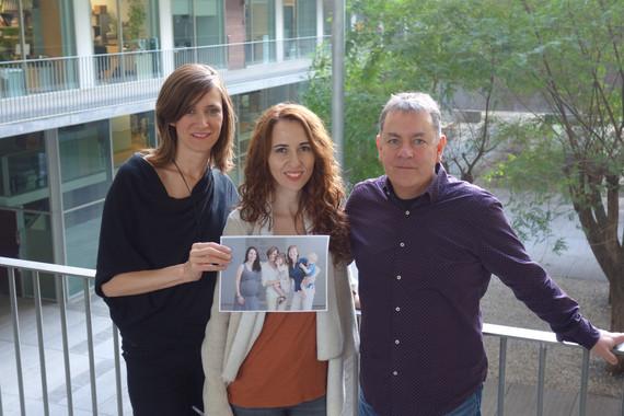 <p>En la imagen, el equipo de investigadores: Erika Barba, Susanna Carmona y Òscar Vilarroya. En la foto interior, Susanna Carmona, Erika Barba y Elseline Hoekzema. / IMIM</p>