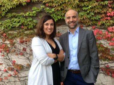 <p>En la imagen,María Salgado yJavier Martínez-Picado, autores de este estudio. / IrsiCaixa</p>