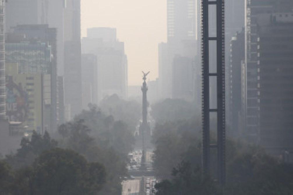 <p>Durante el mes de mayo, la Ciudad de México ha sudrido varios días decontingencia ambiental extraordinaria debido a la contaminación. /©Mario Guzmán/EFE</p>