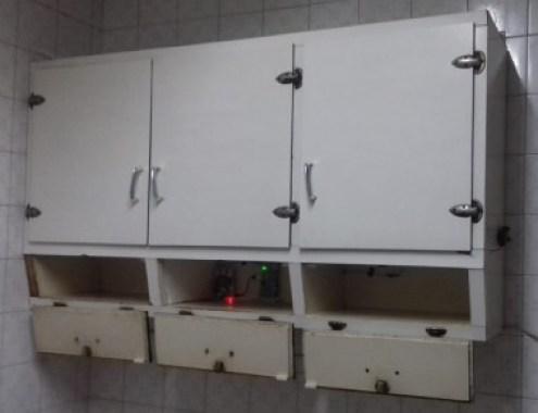Armario con el dispositivo integrado en sus puertas. / Iván García-Magariño