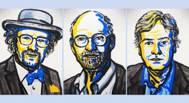 Jeffrey C. Hall, Michael Rosbash y Michael W. Young, los tres ganadores del premio Nobel de Medicina 2017./ NobelPrize