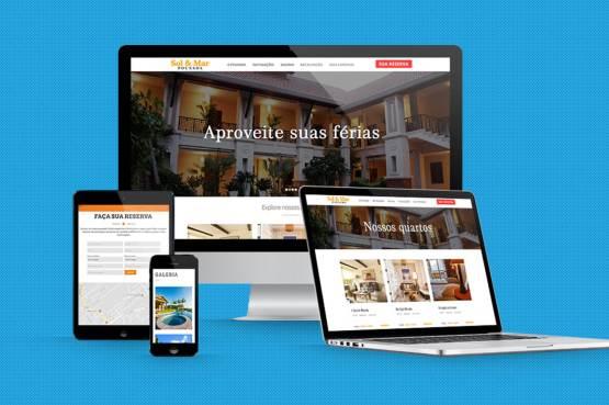 Serviço de criação de sites para pousadas e hotéis