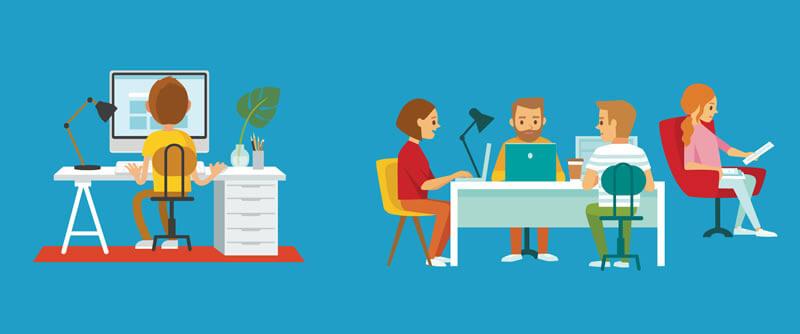 freelancer e agencia