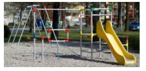 gugalnice in plezala za otroke