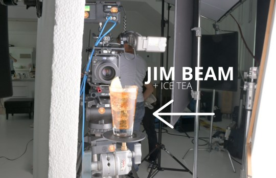 Making of Jim Beam & Ice Tea Commercial