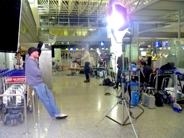 Fraport Infomercial Film-Set
