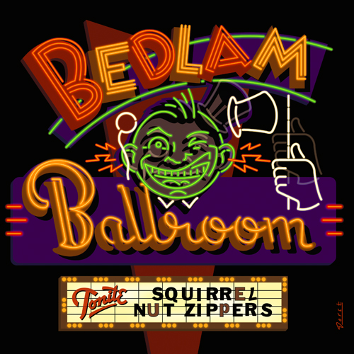 Squirrel Nut Zippers CD cover design