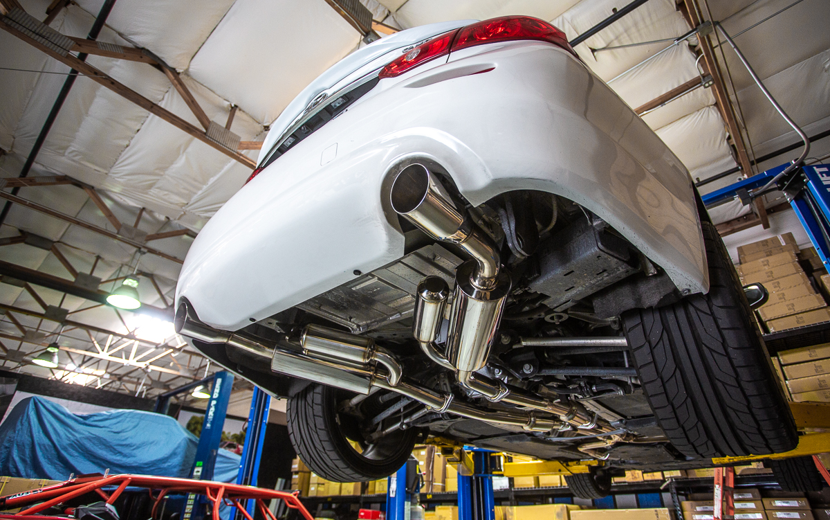 the sound of performance infiniti q50 3 0t catback exhaust agency power
