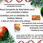 Campanha de Natal do Instituto Meimei em Belo Horizonte