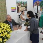 Cesar Perri lançou livro sobre Benedita Fernandes no último sábado