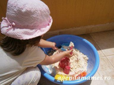 Homemade sand