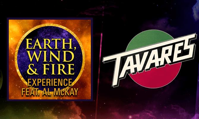Earth Wind & Fire y Tavares arman la fiesta en Movistar Arena: 3 de Agosto