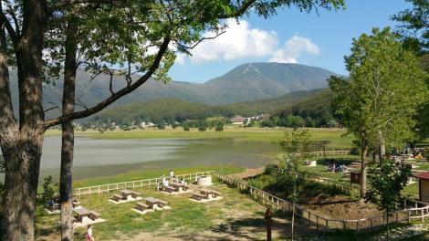 Area picnic Laceno in Irpinia