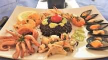 Insalata di mare con riso venere