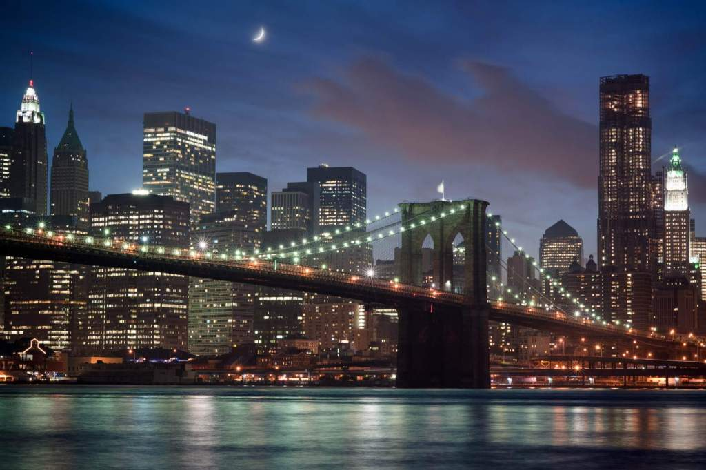 Il ponte di Brooklyn a New York