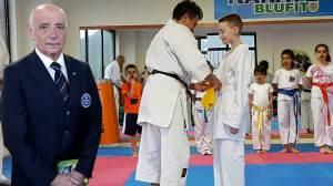 Il maestro di Karate Antonio Lallo