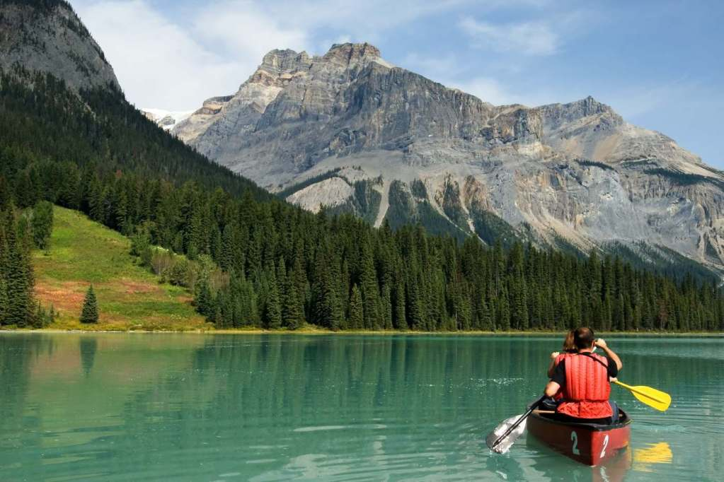 Un paesaggio canadese