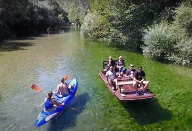 Dove fare rafting e canoa in campania