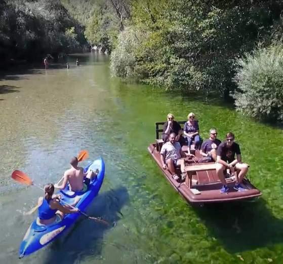 Dove fare rafting e canoa in campania