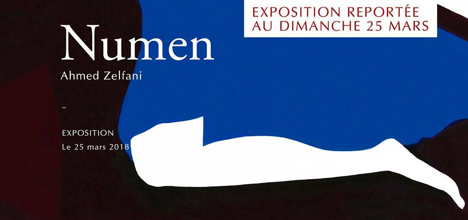 Vernissage « Numen » de Ahmed Zelfani