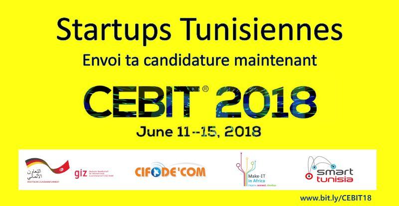 Avis d'appel à manifestation d'intérêt pour la sélection de Startups Tunisiennes