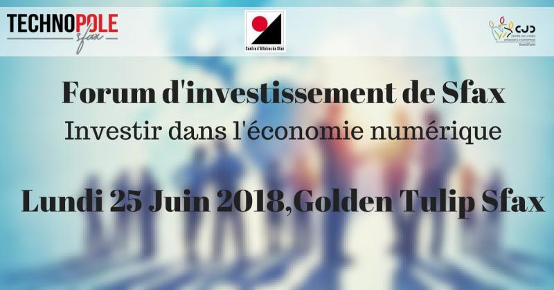 Forum d'investissement de Sfax