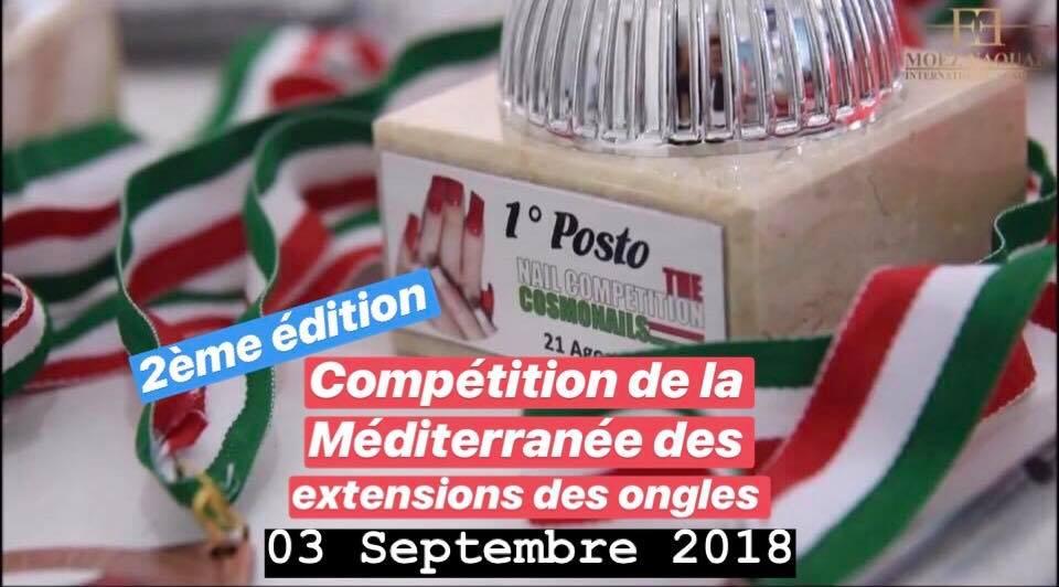2ème compétition de la Méditerranée des extensions des ongles