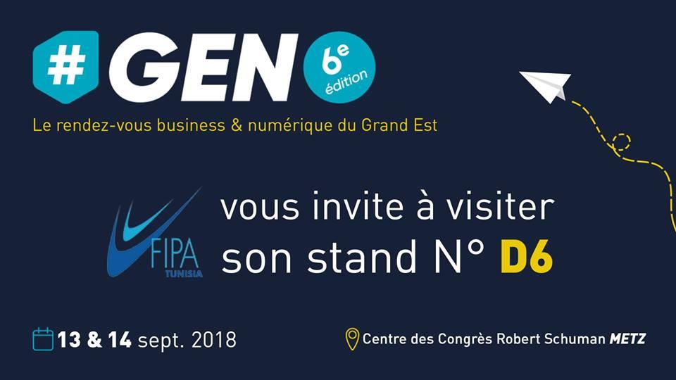 Salon du Grand EST Numérique «GEN 2018»